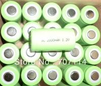 DHL Free shipping 200pcs/lot Ni-CD SC 1.2V 2000mAh battery