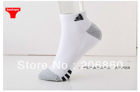 Men's socks 100% breathable combed cotton loop pile shock absorption sweat absorbing 100% breathable cotton socks