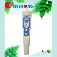 Portable TDS water PH Meter EC Monitor 10ppm Resolution