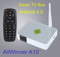 Hotest! Measy A5A Android 4.0 TV Box media Player Mini PC AllWinner A10 HDMI AV Ethernet WiFi USB tv stick free shipping