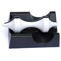 Eoa black and white magnetic levitation spinning top toy novelty birthday gift 220g