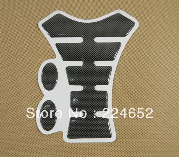 NEW Motorcycle Carbon Fiber Gas Tank Pad Sport TankPad Protector For YaMaha R1 R6 YZF FZR Free Shipping(China (Mainland))