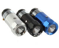New Mini Car Cigarette Lighter Rechargeable LED Flashlight Torch Emergency Lights