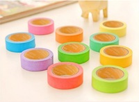 F05604 Multifunction Colorful Adhesive Paper Tape Sticker label For DIY handmade Decoration Memo Writing + Free ship