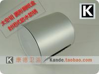 Space aluminum bathroom circle toilet paper box roll paper tube toilet paper holder waterproof (KP)