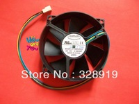 New velocimetry CPU cooling fan For Everflow F129025SU Double ball bearing fan