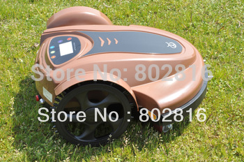 Free Shipping 2013 Newest With Password,Time Setting,Language and Subarea Setting Function Robot Lawn Mower(Lead-acid Battery)