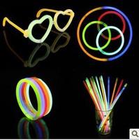 5 times . 200mm neon stick glow stick neon bracelet neon stick luminous stick