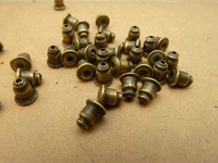 2013 Jewelry Connection Free Shipping Diy Antique Vintage Ancient Bronze Stud Earring Dutou 4*6mm 400pcs/lot