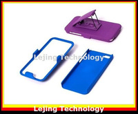 Free shipping 10pcs/lot Belt clip holder Hybrid case for iphone 5