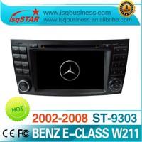 Wholesale Central multimedia gps for Mercedes-Benz E-Class W211(2002-2008)/ (E200,E220,E240,E270,E280)/ Benz CLS W219(2004-2011)