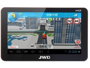 Capsoft jwd7012 7 8g high speed dual-core 1.5g 3d car gps navigation(China (Mainland))