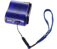 USB Hand Power Dynamo Torch Charger Cellphone MP3 PDA  Crank Emergency Charge Mini  Free Shipping