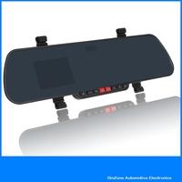 "2013 New ! 2.7"" 1080P FULL HD Car Mirror Camera DVR Video Recorder Blackbox Support Night Vision HDMI Motion Detection"