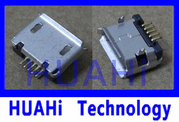 Free SHIPPING 10 PCS Mini 5 Pin USB Female Jack Plug Connector Micro Charging Port(China (Mainland))