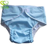Adult cloth diaper diapers pants type velcro diaper diapers
