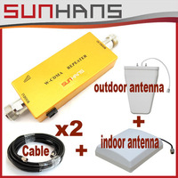 Direct Marketing Sunhans 3G Repeater 2100MHz Signal Booster Amplifier Free shipping 1sets