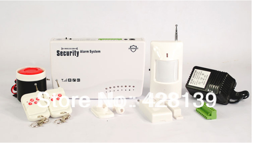 P59 G11 Wireless GSM 850/900/1800/1900MHz Home Intruder Burglar Alarm System Intelligent For Security(China (Mainland))