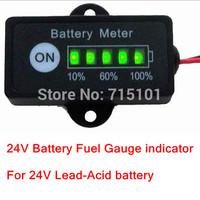 24V Battery Fuel Gauge indicator for 24V Lead-Acid battery SLA,AGM,GEL,VRLA battery Pack