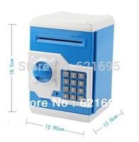 Hot selling Automated Lockbox Piggy Bank Coin Saving Money Box Bank, Kids Gift,Novelty Toys