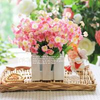 2000 set wooden fence flower set rustic artificial flower set home artificial flower piaochuang decoration flower