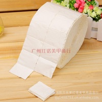 free shipping ,5X500pcs/roll resurrection of towel tisanes wipes nail art cotton paper  wipes