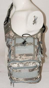MOLLE TACTICAL SHOULDER STRAP BAG POUCH PACK ACU -32493