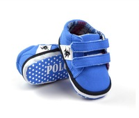 Wholesale Hot sale,blue casual sports baby shoes soft sole toddler shoes non-slip pre-walker infants shoes,f