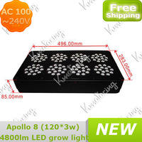 Grow Hydroponic Light AC 100~240V Greenhouse Indoor Plant Garden For Hydroponics 266~278W Led Plant Lamp free shipping