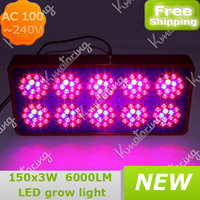 Red and Blue Indoor Plant Garden For Hydroponic 450W AC 100~240V Led Hydroponics Light Greenhouse Plant Grow Lamp 337~364W