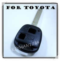 2 BUTTON REMOTE KEY FOB CASE for TOYOTA CAMRY RAV4 PRADO COROLLA LAND CRUISER