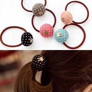 20pcs Fashion cute rabbit colorful Hair rope Headband