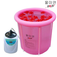 Water beauty multifunctional household box folding tub bathtub