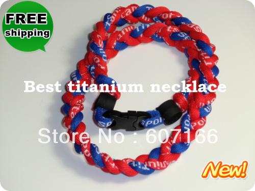custom titanium necklace braided fashionable Negative ion tornado necklace(China (Mainland))