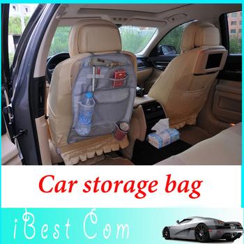 50pcs Free shipping Automobile multi-function receive bag car back chair more Nylon pocket storage bag wholesale hot sa kids toy