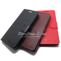 Free Shipping (1pcs)Top Quality Series leather case for Huawei G520 P2 case cover Classic design