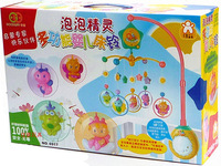 Gy6917 bubble fairy multifunctional baby bed bell electronic music led light bed bell