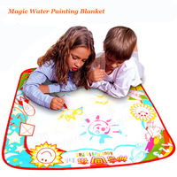 Children's Drawing Mat  with water pen  colorful Educational Toy Size 70*70cm