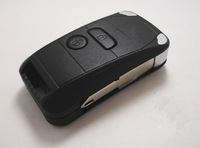 Remote Folding Key Shell Case Keyless Fob Flip Cover For Peugeot 206 106 306 2B 2 Buttons