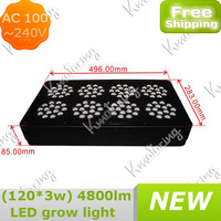 AC 100~240V Indoor Garden Greenhouse For Hydroponics Plant Led Hydroponic Lamp Grow Plant  Light  266~278W