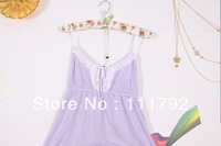 Free shipping 2013 Sexy Lace Women's Camisole soft loose deep V-neck halter camisole dress Mo-generation kind shooting