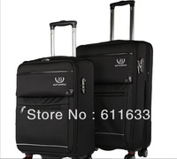 "free shiping!high quality business luggage/commercial luggage/out-standing trolley suitcase;hot sale luggage bags-20"";24"""