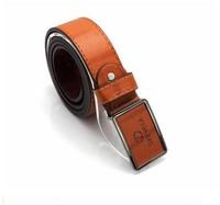 Free Shipping!2013 New Fashion Design Men's Belt, PU & Cowskin Strap With Metal Buckle, Drop Shipping#hm701