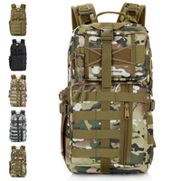 Outdoor travel backpack sparrow sandtroopers bag cs sports ride running Camouflage backpack 30l backpack