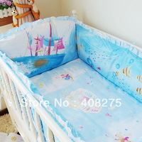 Queen-size Baby bedding set 4 5 6 8 9 10 pcs baby crib sets  bed set for cot  bedclothes for kids pillow sheet quilt mattress