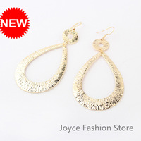 Min Order $10,2013 Fashion Designer Jewelry,Vintage Exaggerated Big Circle Stud Earrings,Accessories for Woman,E56