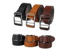 Free Shipping, 2013 New Fashion Design Men's Belt, PU & Cowskin Durable Strap , 3 Colors, Drop Shipping#hm705