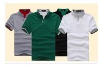 free shipping ! 2012 TUOYI new Mens summer leisure T shirt fashion slim short sleeve V neck T shirt #hm504