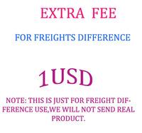 extra fee 1usd