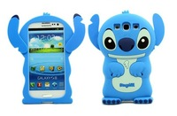 3D stitch silicone soft shell for samsung I9300  I9100  I9000